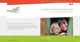 Arbeitsprobe ROTER FADEN-PR - Beratung und Texte für Website Innowego