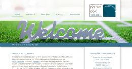 Arbeitsprobe ROTER FADEN-PR - Website für Physiobox, Tübingen