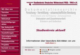 Arbeitsprobe ROTER FADEN-PR - Workshop Studienkreis Deutscher Widerstand e.V.