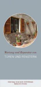 Arbeitsprobe ROTER FADEN-PR - Konzept & Text Flyer für Ulrich_Komp